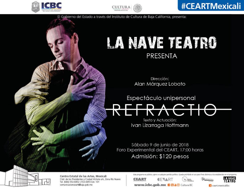 Refractio en Ceart Tecate. La Nave Teatro