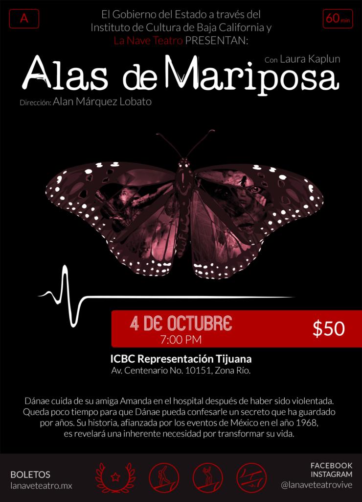 Alas de Mariposa ICBC
