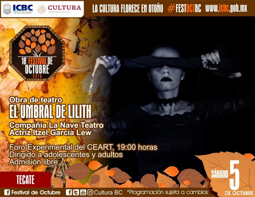 El Umbral de Lilith Festival de Octubre